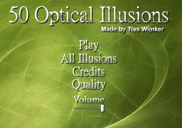50 оптических иллюзий - отличная подборка (flash)