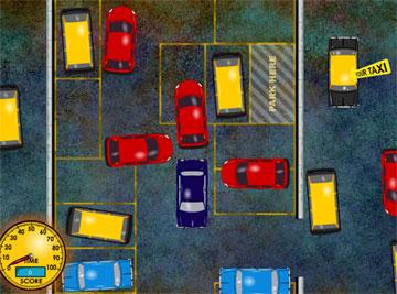 Припаркуй авто (flash игра)