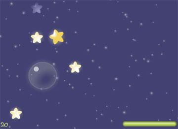 Зажги для любимой звезду! (flash игра)