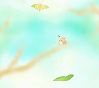 Разбуди бабочек (flash игра)