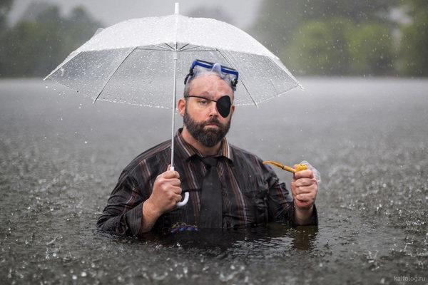 Когда весь день идет дождь
