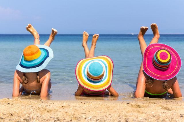 Прикольные фото про отдых на пляже