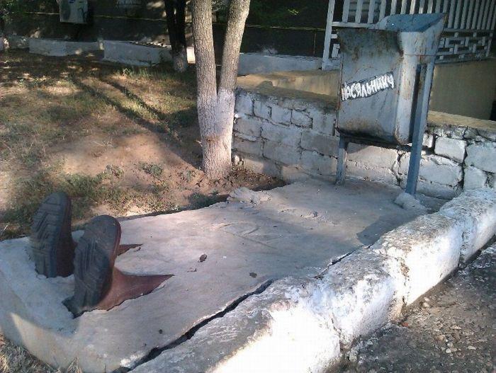 Памятник Насяльнику