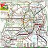 Схема метрополитена Токио