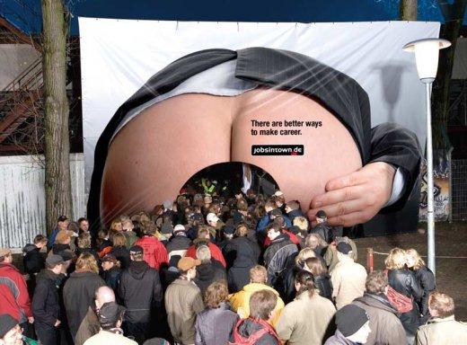 Реклама немецкого сайта по поиску работы