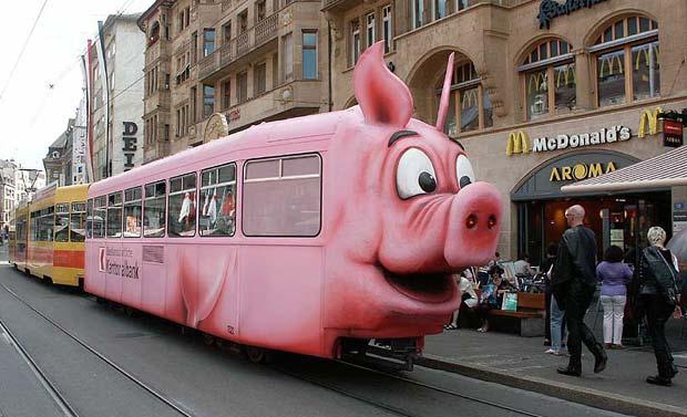 В одесском трамвае