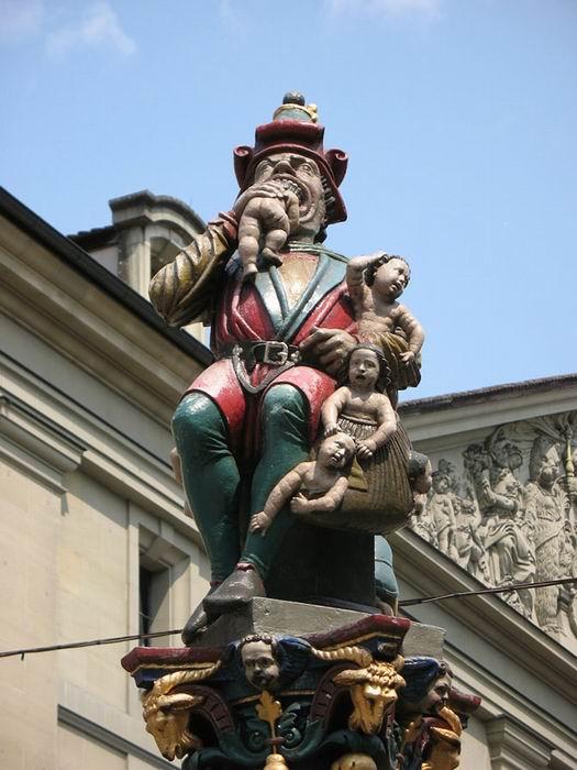 «Поедатель детей», Берн, Швейцария