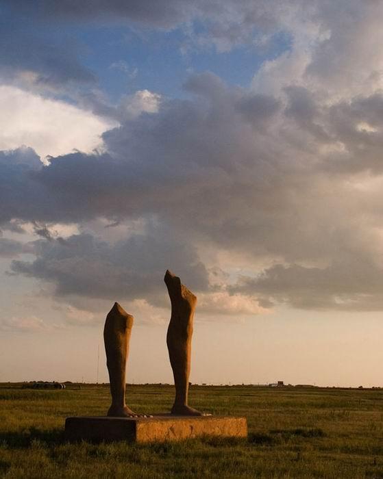 «Озимандис на равнинах», штат Техас, США
