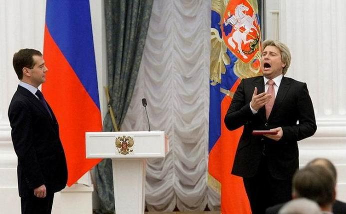 Фотожаба: Медведев и Басков (51 фотография)