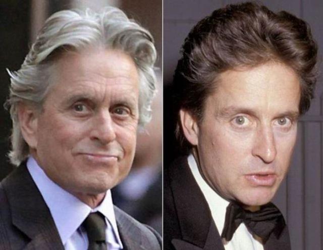 Как с годами изменились знаменитые люди (13 фото)