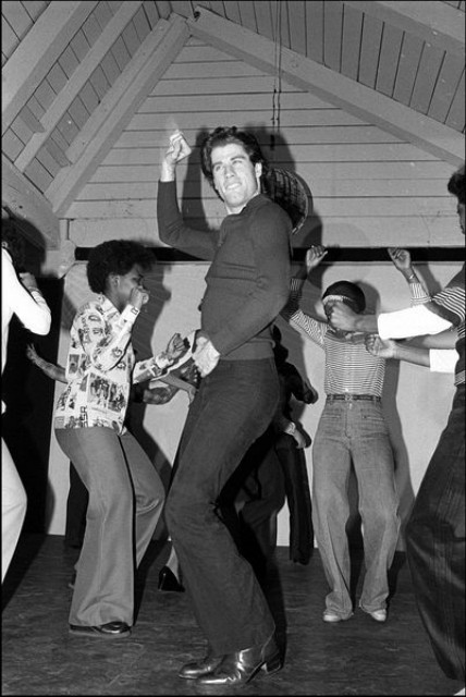 Неизвестные фотографии известных людей John Travolta