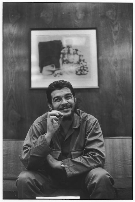 Неизвестные фотографии известных людей Che Guevara