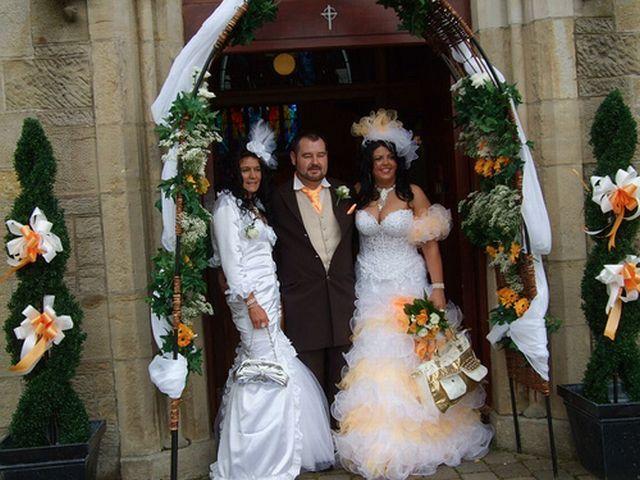 Шикарная свадьба (11 фотографий)