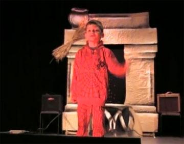 Сказка про Теремок в Голливудском стиле (video)