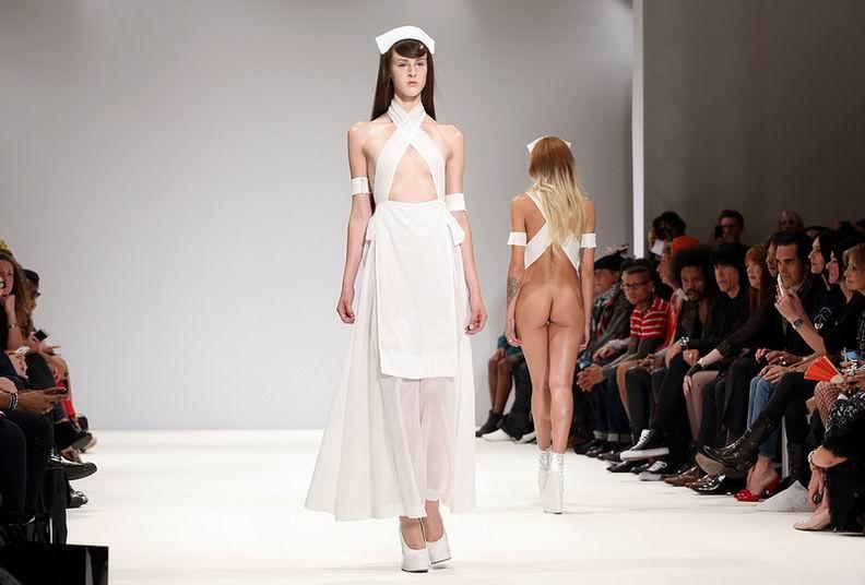Модная коллекция 2013 на London Fashion Week (14 фото)