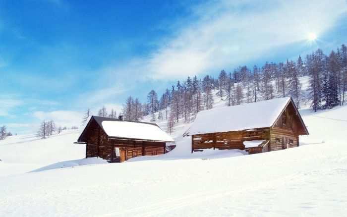 Тяпница, зимы начало...