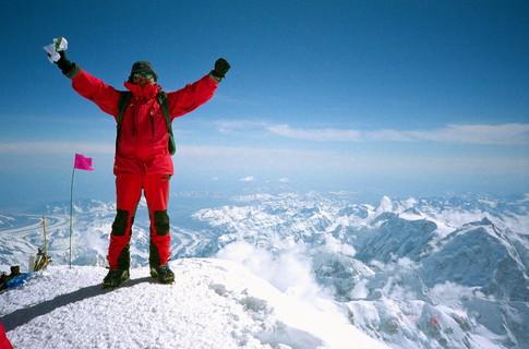 Найди четырех альпинистов