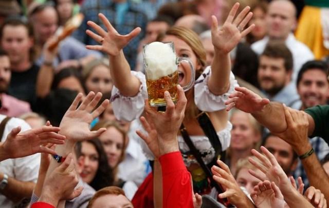 Пивной фестиваль Октоберфест (32 фото)