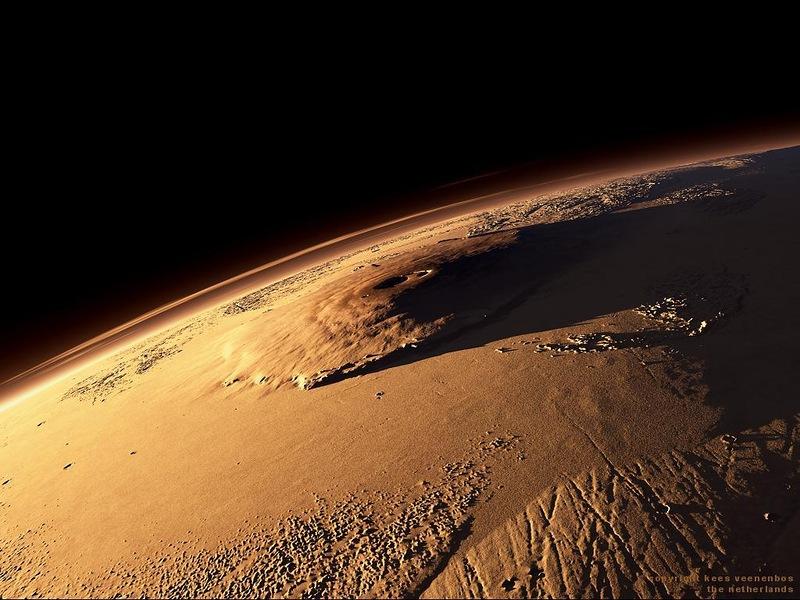 Олимп - самая высокая гора в Солнечной системе (7 фото)