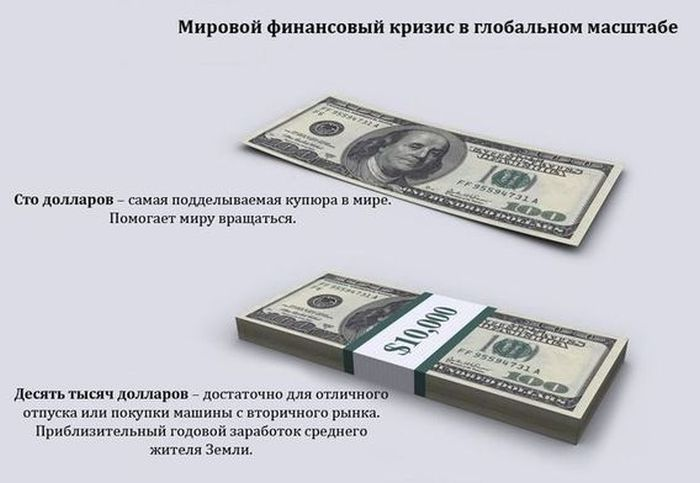 Про мировой финансовый кризис (13 картинок)