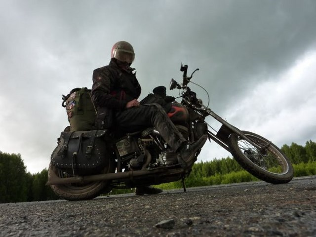 Путешествие иностранца по России (55 фото)