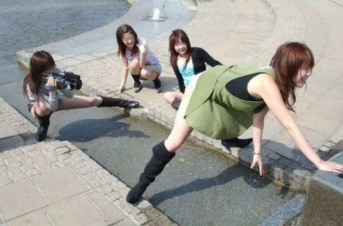 Сумасшедшие снимки из Японии