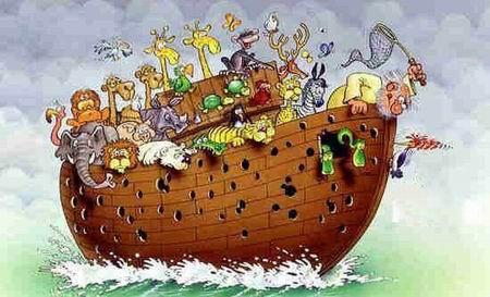 В каком количестве Ной взял зверей