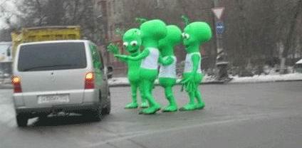 Что делать, если видишь зелёного человечка?