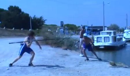 10 сумасшедших спортивных моментов (video)
