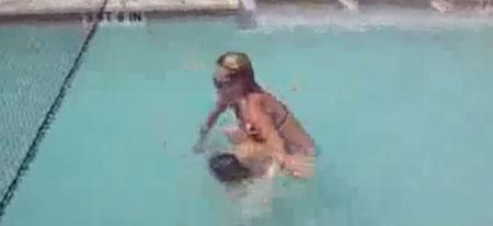 Подборка неудач в бассейне (video)