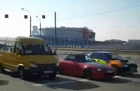 Такое возможно только в России (video)