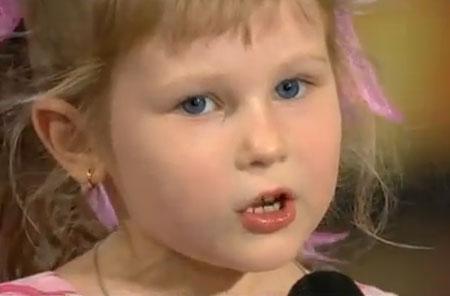 Замечательная девчушка (video, смотреть всем!)